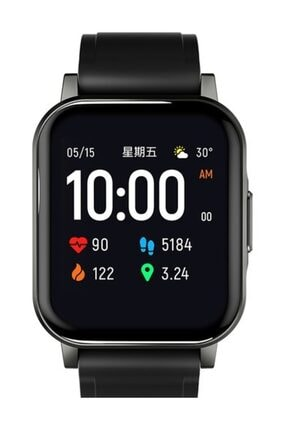 Haylou Ls02 Akıllı Saat - Ip68 Suya Dayanıklı - Nabız Takip - Ios&android Uyumlu 1