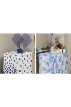 Evdy Mavi Bodrum Model Çamaşır Makinesi Örtüsü 4246 0