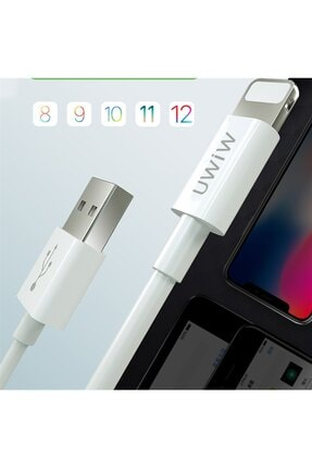Nokta Apple Iphone 6s Hızlı Şarj Usb Veri Kablosu 120cm - 2
