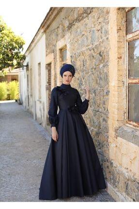 MY DREAMS COLLECTİON Kadın Lacivert Duru Abiye 0