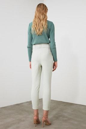 TRENDYOLMİLLA Mint Kemer Detaylı Pantolon TWOSS20PL0354 3