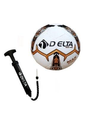 Delta Max Pro El Dikişli 5 Numara Futbol Topu + Top Pompası 0