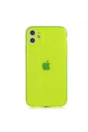AksesuarLab Iphone 11 Kılıf Kamera Korumalı Kılıf - Sarı 3