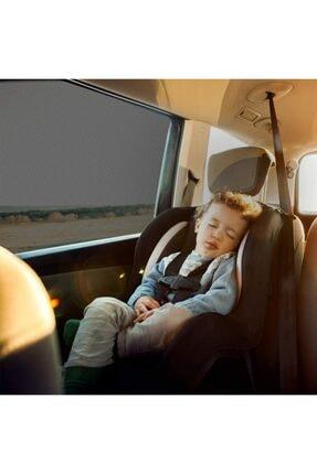 Ankaflex Araba Araç Oto Yan Cam Güneşlik Örtü Perde Kılıf Güneşliği Araba Anne Bebek Emzirme Perdesi Güneşlik 3