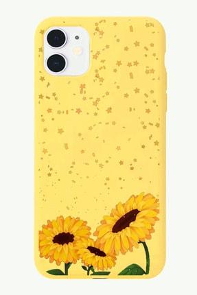 POFHİ Galaxy S10 Ayçiçeği Sarı Premium Telefon Kılıfı 0