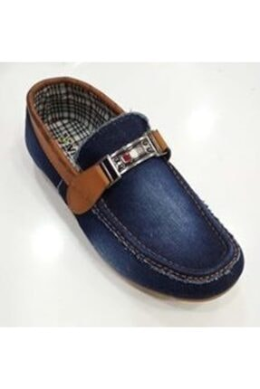 Vicco Erkek Lacivert Kot Taba Filet Ayakkabı 0