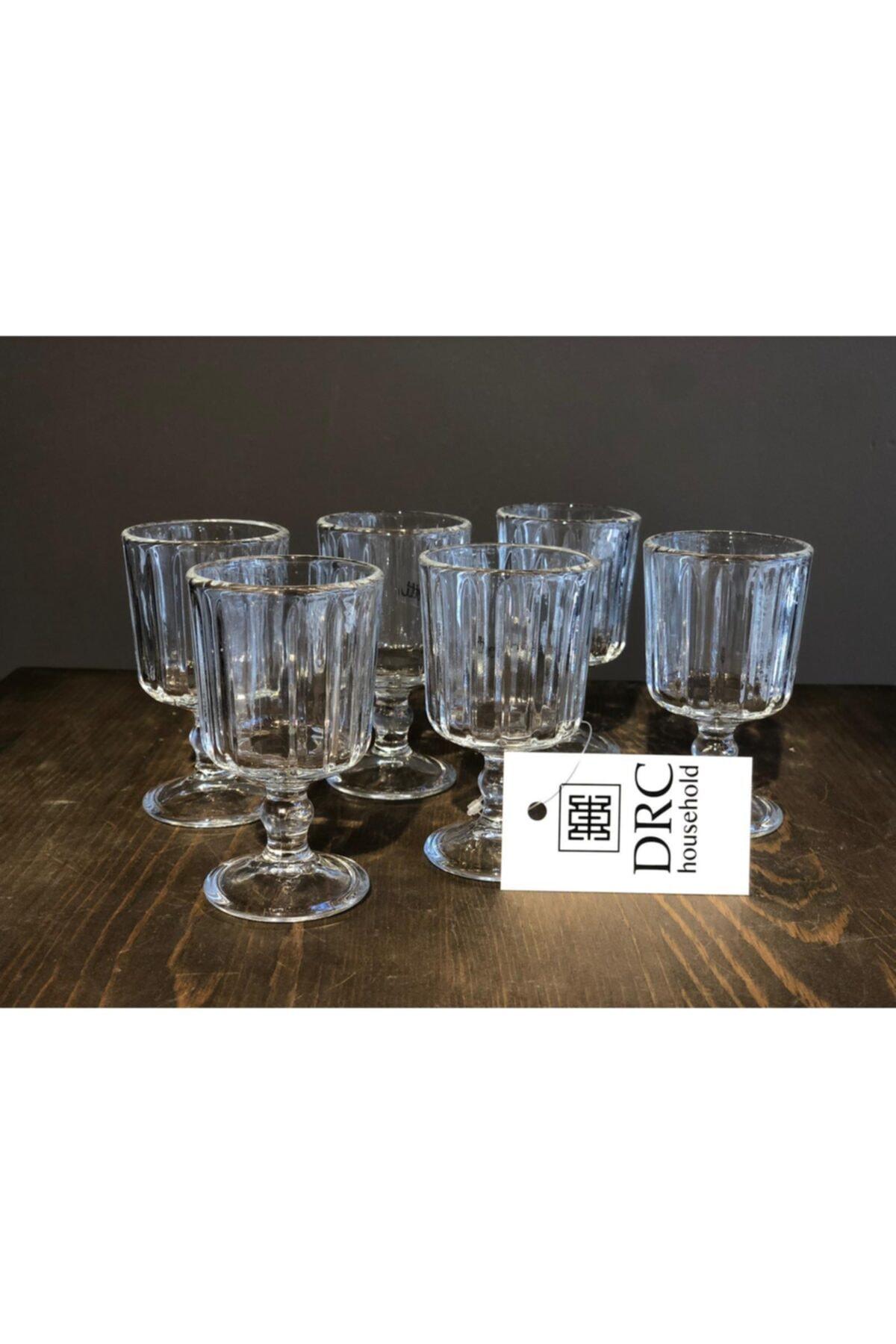 Household Cam 6'Lı Kahve Yanı Bardağı