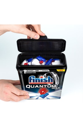 Finish Quantum Max 85 Kapsül+Özel Saklama Kutusunda Quantum Max 80 Kapsül Bulaşık Makinesi Deterjanı 2