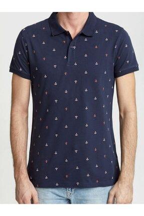 Ltb Erkek  Lacivert Polo Yaka T-Shirt 012198435060890000 4