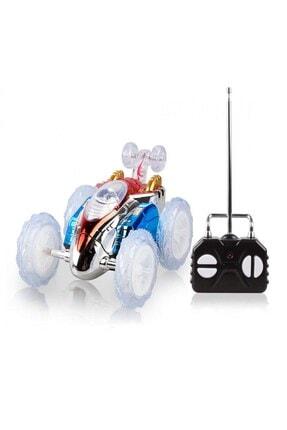 RoseRoi Dasher Uzaktan Kumandalı Takla Atan Işıklı Çılgın Akrobat Oyuncak Araba 2