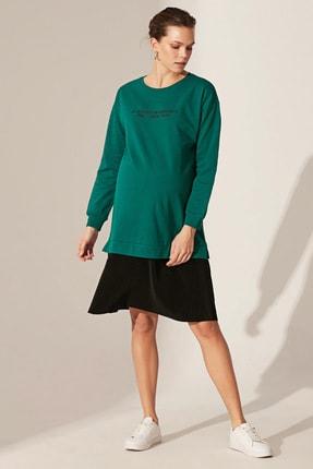 LC Waikiki Kadın  Orta Yeşil  Elbise 0Sp093Z8 0