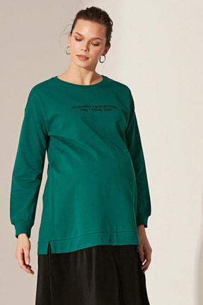 LC Waikiki Kadın  Orta Yeşil  Elbise 0Sp093Z8 1
