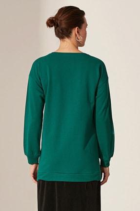 LC Waikiki Kadın  Orta Yeşil  Elbise 0Sp093Z8 2