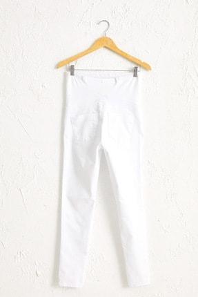 LC Waikiki Kadın  Optik Beyaz  Pantolon 0S0547Z8 1