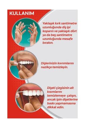 Colgate Total Profesyonel Diş Eti Sağlığı Arayüz Diş İpi 50 m x 3 Adet 1
