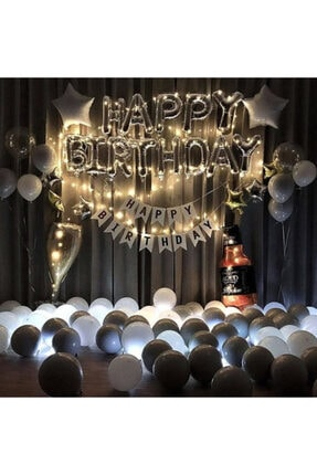 COMPANERO SHOP Viskili Kadehli Yetişkin Doğum Günü Happy Bırthday Seti 0