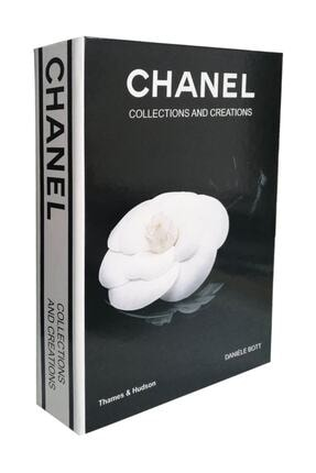 LYN HOME & DECOR Siyah Chanel Collections and Creations Dekoratif Kutu 0