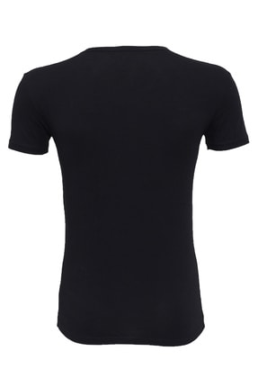 Armani Exchange Erkek Siyah T-shirt 1