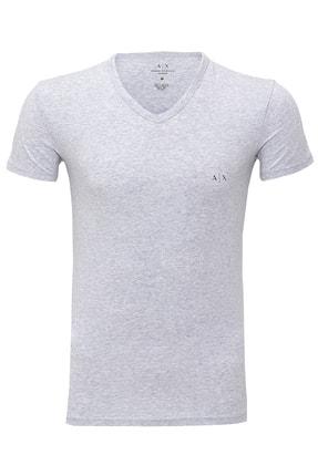 Armani Exchange Erkek Siyah T-shirt 2