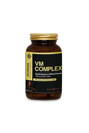 Microbiome Vm Complex Multivitamin 60 Tablet 0