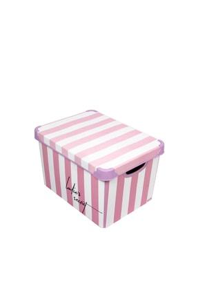 QUTU Style Box Lady's Secret - 3'lü Set Dekoratif Saklama Kutusu 1