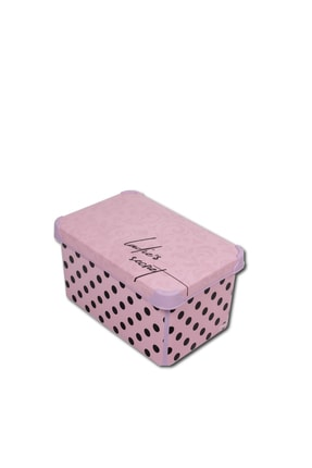 QUTU Style Box Lady's Secret - 3'lü Set Dekoratif Saklama Kutusu 2