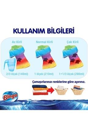 Bingo Matik Toz Çamaşır Deterjanı Renkli & Beyaz 7 kg 2'li 4