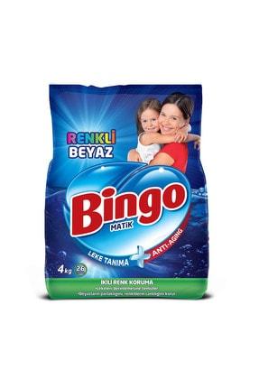 Bingo Toz Çamaşır Deterjanı Renkli - Beyaz 4 Kg 1