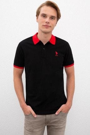 US Polo Assn Sıyah Erkek T-Shirt 0