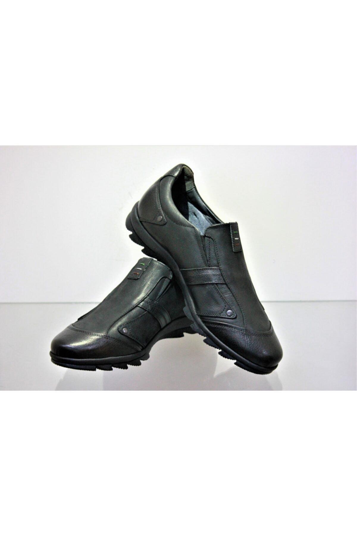 Genç Siyah Klasik Ayakkabı 9768