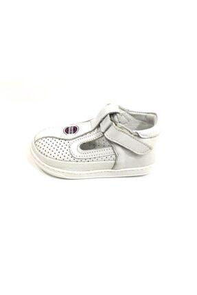 Erkek Bebek Beyaz Klasik Ayakkabı resmi