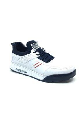 Wickers Erkek Beyaz Ortopedik Günlük Mevsimlik Spor Ayakkabı 0