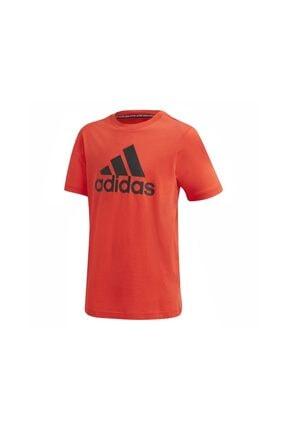 adidas Çocuk Çok Renkli Kısa Kol T-Shirt 0