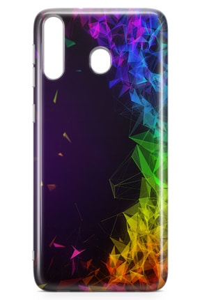 Lopard Samsung Galaxy M30 Kılıf Prizma Arka Kapak Koruma Desenli Full Koruyucu 1