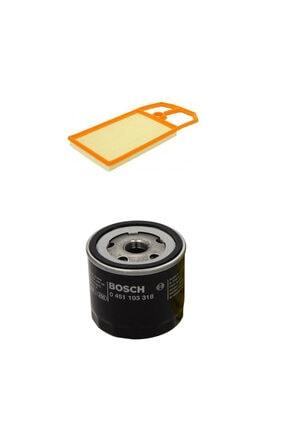 Bosch Filtre Bakım Seti Volkswagen Bora 1.6 Benzinli 105 Beygir Hava + Yağ Filtre 0