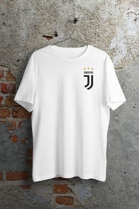 WePOD Juventus On Heart Beyaz Unisex Tshirt 0