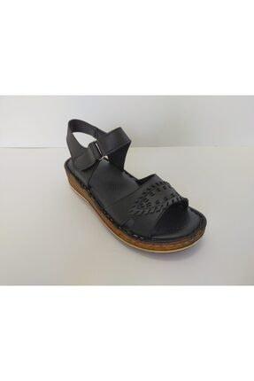 İpekçe Home Kız Çocuk Siyah Bantlı Sandalet 2