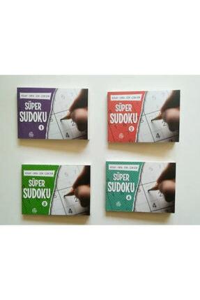 Ahbap Kitap 4 Farklı Süper Cep Sudoku Toplam 528 Sudoku 0