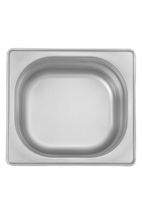 ÖZTİRYAKİLER Gastronorm Küvet Standart Gn 1/6, 17.6x16.2x15 cm (1/6-150) 0