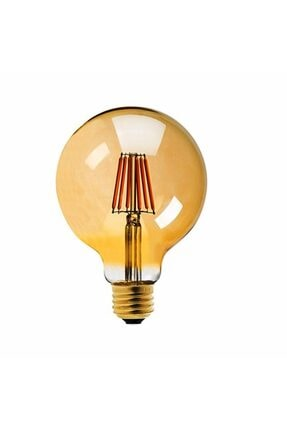 Heka G95 4 Watt Sarı 250 Lümen Filament Edison Tip Rustik Led Ampul 0