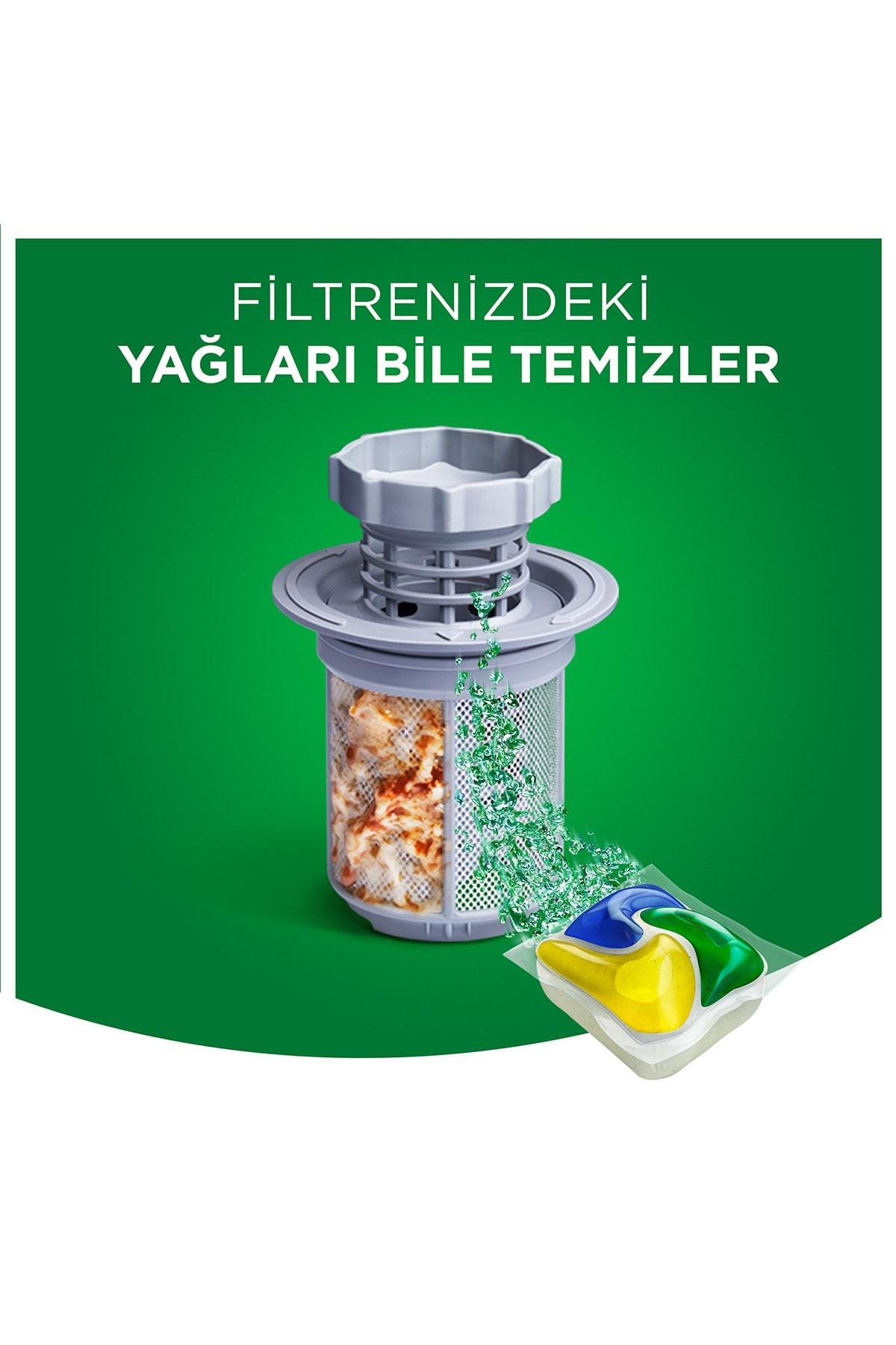 Fairy Platınum 115 Yıkama Bulaşık Makinesi Kapsul Limon Kokulu (beslenme Kutusu Hediye) 3