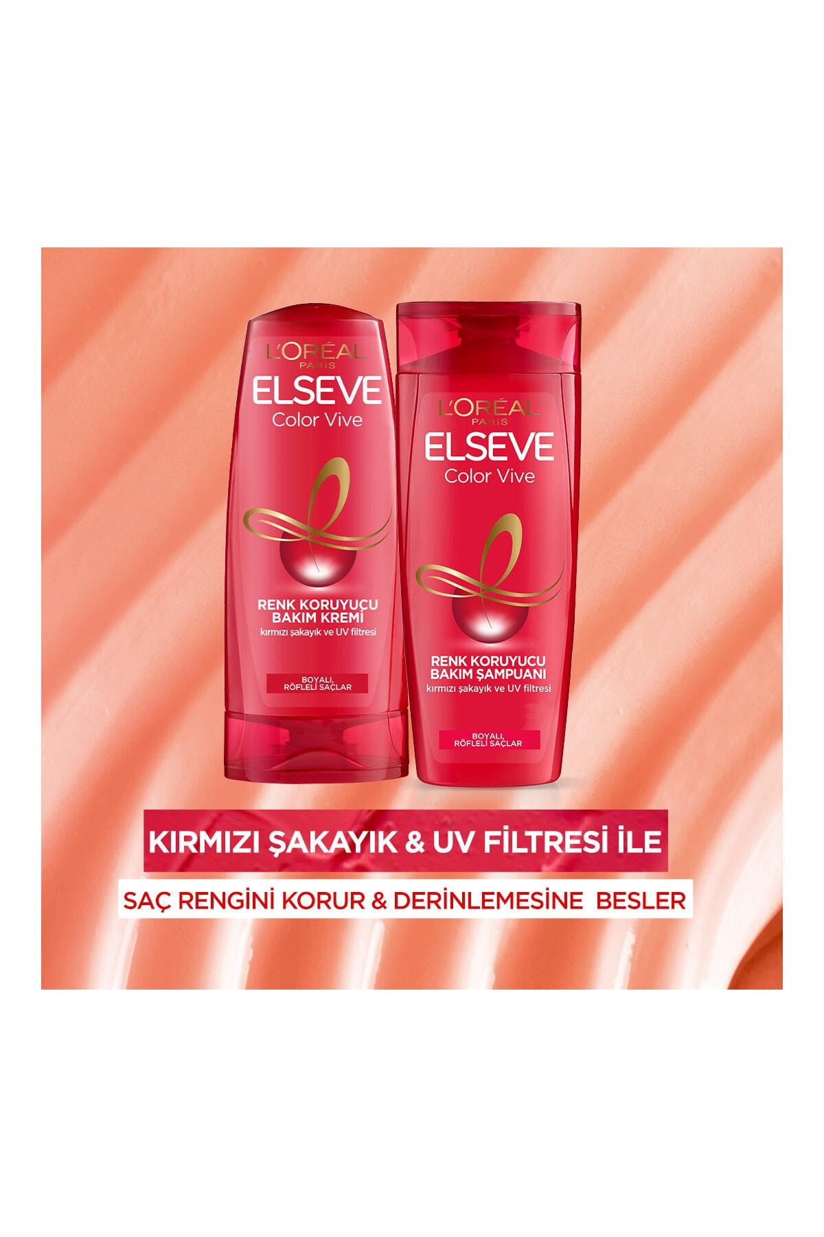 Elseve Renk Koruyucu ve Nemlendirici Şampuan 360 ml 4