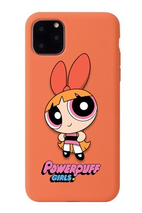 POFHİ Galaxy A20s Blossom Powerpuff Girls Turuncu Premium Telefon Kılıfı 0