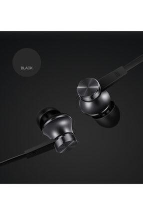 Xiaomi Piston Basic Edition Mikrofonlu Kulakiçi Kulaklık Siyah (Yassı Kablolu) 1