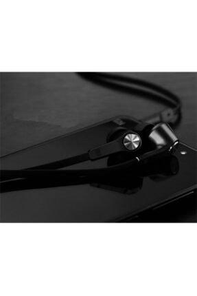 Xiaomi Piston Basic Edition Mikrofonlu Kulakiçi Kulaklık Siyah (Yassı Kablolu) 2