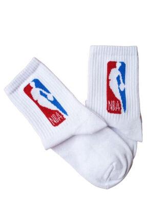 Pofudy Socks 4'lü Basketbol Serili Kolej Çorap Seti 1
