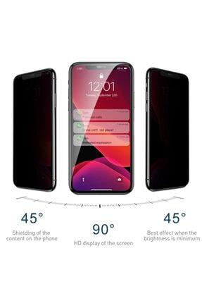 Apple Iphone 11 Pro (5.8'') Kavisli Gizlilik Filtreli Zengin Çarşım Hayalet Ekran Koruyucu 1