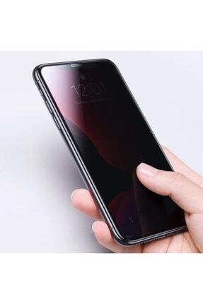 Apple Iphone 11 Pro (5.8'') Kavisli Gizlilik Filtreli Zengin Çarşım Hayalet Ekran Koruyucu 3