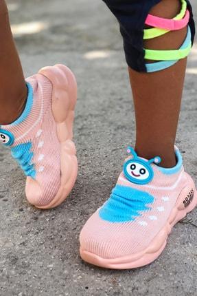 Mk Claws Çocuk Pembe Ortopedik Hafif Yumuşak Ayakkabı Spor 2