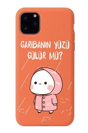 POFHİ General Mobile Gm8 Go Garibanın Yüzü Gülür Mü Turuncu Premium Telefon Kılıfı 0